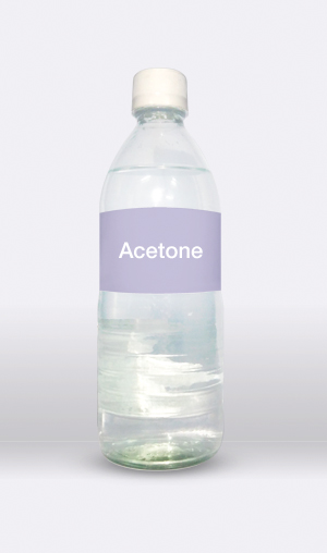 Acetone is a clear and volatile liquid. It is the simplest ketone.