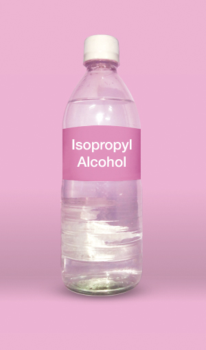Isopropyl alcohol is an alcohol with a propyl group linked to a hydroxyl group.